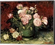 Roses and Peonies, 1886 Fine-Art Print