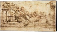 Perspective Study for the Background of The Adoration of the Magi Fine-Art Print
