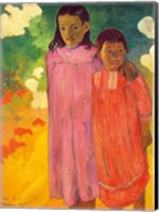 Piti Tiena, 1892 Fine-Art Print