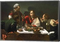 The Supper at Emmaus, 1601 Fine-Art Print