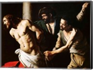 The Flagellation of Christ, c.1605-7 Fine-Art Print