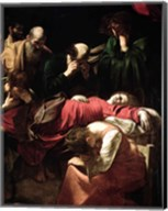 The Death of the Virgin, 1605-06 Fine-Art Print