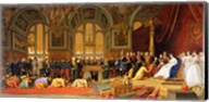 The Reception of Siamese Ambassadors by Emperor Napoleon III Fine-Art Print