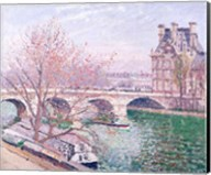 The Pont-Royal and the Pavillon de Flore, 1903 Fine-Art Print