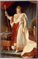 Napoleon in Coronation Robes, c.1804 Fine-Art Print