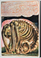 Book of Urizen; the creation of Urizen in material form by Los, 1794 Fine-Art Print