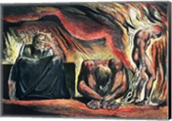 Jerusalem The Emanation of the Giant Albion;  Vala, Hyle and Skofeld, showing the crowned Vala Fine-Art Print