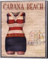 Cabana Beach - mini Fine-Art Print