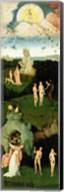 The Haywain: left wing of the triptych depicting the Garden of Eden, c.1500 Fine-Art Print