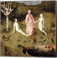 The Garden of Earthly Delights, c.1500, Detail Fine-Art Print