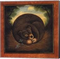 Sleepy Bear Fine-Art Print