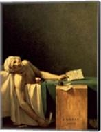 The Death of Marat, 1793 Fine-Art Print