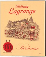 Chateau Lagrange Bordeaux Fine-Art Print