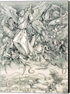 St. Michael Battling with the Dragon from the 'Apocalypse' Fine-Art Print
