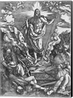Resurrection, from 'The Great Passion' series, 1510 Fine-Art Print