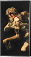 Saturn Devouring one of his Children, 1821-23 Fine-Art Print