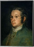 Self portrait with spectacles, c.1800 Fine-Art Print