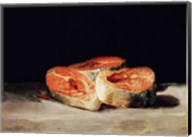 Still Life with Slices of Salmon Fine-Art Print