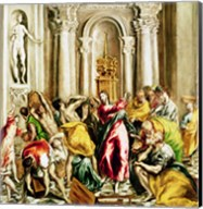 Jesus Driving the Merchants from the Temple Fine-Art Print