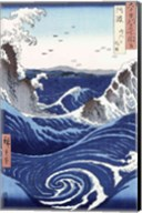 View of the Naruto whirlpools at Awa Fine-Art Print