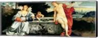 Sacred and Profane Love, c.1515 Fine-Art Print