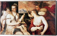The Education of Cupid, c.1565 Fine-Art Print