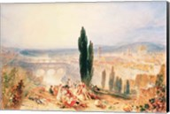 Florence from near San Miniato, 1828 Fine-Art Print