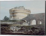 Castle of San Angelo, Rome Fine-Art Print