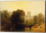 Near the Thames Lock, Windsor, c.1809 Fine-Art Print