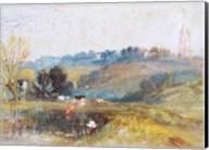 Landscape near Petworth, c.1828 Fine-Art Print
