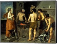 The Forge of Vulcan, 1630 Fine-Art Print