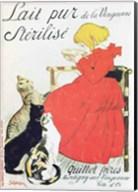 'Pure Sterilised Milk from La Vingeanne' Fine-Art Print