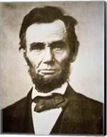 Abraham Lincoln - black and white Fine-Art Print