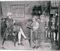 Old-Time School in Pennsylvania Fine-Art Print
