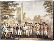 The British Surrendering to General Washington after their Defeat at Yorktown Fine-Art Print