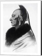 Le Soldat du Chene, an Osage Chief Fine-Art Print