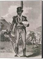 Portrait of Francois Dominique Toussaint-Louverture Fine-Art Print