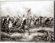Rough Riders: Colonel Theodore Roosevelt Fine-Art Print
