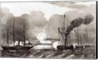 Naval Bombardment of Vera Cruz Fine-Art Print