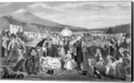 The Eviction: A Scene from Life in Ireland Fine-Art Print