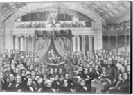 Daniel Webster addressing the United States Senate Fine-Art Print