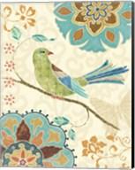 Eastern Tales Birds II Fine-Art Print