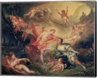 Apollo Revealing his Divinity to the Shepherdess Isse, 1750 Fine-Art Print