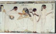 The Toilet of Noblewomen, from the Tomb of Rekhmire Fine-Art Print