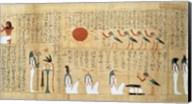 Mythological papyrus of Imenemsaouf Fine-Art Print
