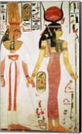 Isis and Nefertari, from the Tomb of Nefertari Fine-Art Print