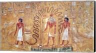 The sun god Ra in his solar barque Fine-Art Print