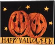 Happy Halloween Pumpkins Fine-Art Print