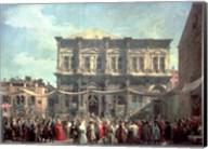 The Doge Visiting the Church and Scuola di San Rocco Fine-Art Print