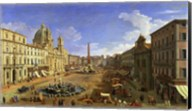 View of the Piazza Navona, Rome Fine-Art Print